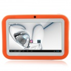 "R702C 7.0"" Android 4.1 Tablet PC w/ Wi-Fi / 512MB RAM, 8GB ROM, Dual Camera, HDMI - Orange + White"