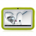 "R702C 7.0"" Android 4.1 Tablet PC w/ Wi-Fi / 512MB RAM, 8GB ROM, Dual Camera, HDMI - Green + White"