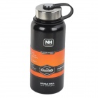 Naturehike Outdoor Stainless Steel Vacuum Water Bottle - Black (900ml)
