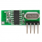 KS-15RD Low-Noise Superheterodyne Receiver Module - Green