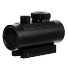 Tactical 1x40 R & G Dot Sight Scope w / 10mm ~ 20 milímetros Weaver Mount - Preto