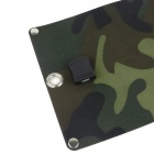 8W pliant Chargeur solaire - ACU Camouflage
