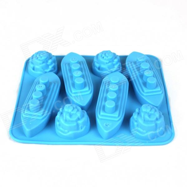 Ship + Iceberg Style Ice Lattice Ice Block Mold - Sky Blue blue sky чаша северный олень