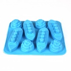Ship + Iceberg Style Ice Lattice Ice Block Mold - Sky Blue