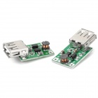 USB 1~5V DC to DC PCB Voltage Step Up Boost Module - Green (2 PCS)