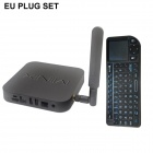 MINIX NEO X7+Rii MINI X1 Air Mouse Android 4.2.2 Quad-Core Google TV Player w/ 2GB RAM, 16GB ROM, EU