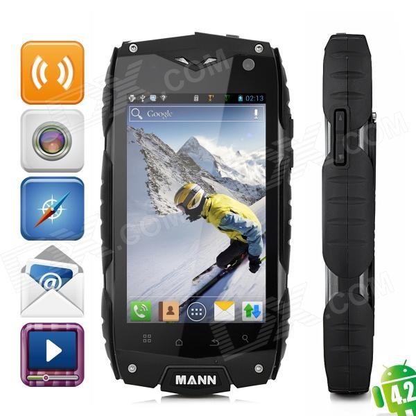 Qualcomm MSM8225 Dual-Core Ultra-Rugged Waterproof Android 4.0 WCDMA Cellphone w/ 4.0
