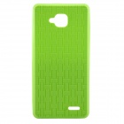 JIAYU Protective Silicone Back Case for JY-G3 / G3 / G3S+ / G3S - Green
