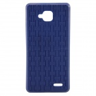 JIAYU Protective Silicone Back Case for JY-G3 / G3 / G3S+ / G3S - Blue