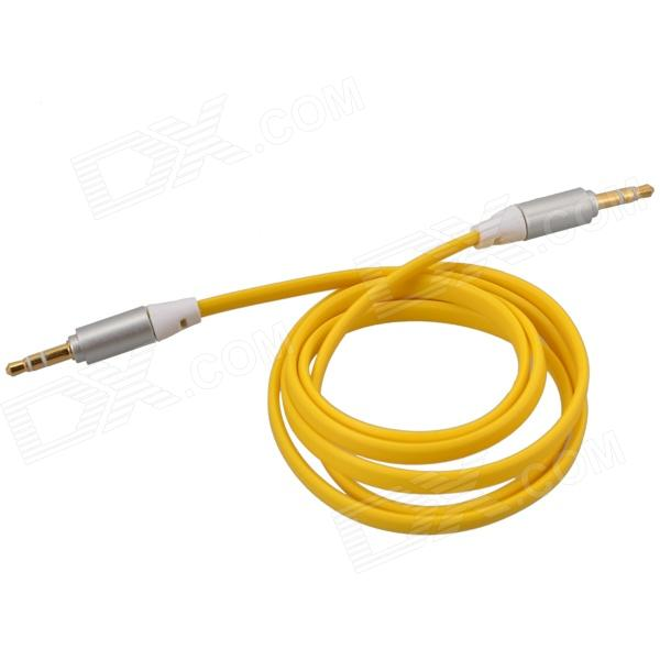 3.5mm TRS Male to Male Flat Audio Connection Cable - Yellow (103cm) кабель инструментальный vovox link direct s350 trs trs