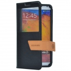 DiscoveryBuy Luxury Style Fashion Protective Case for Samsung Galaxy Note3 - Black
