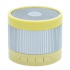 EWA A105 Mini Portable Bluetooth Speaker w/ TF / Handfree Function - Yellow + Silver