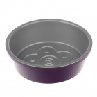 "DIY 6"" No Sticking Carbon Steel Flower Cake Mold - Silver + Purple"
