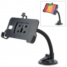 360 Degree Rotation Suction Cup Holder w/ H05 Bracket for Samsung Galaxy Note 3 N9006 - Black