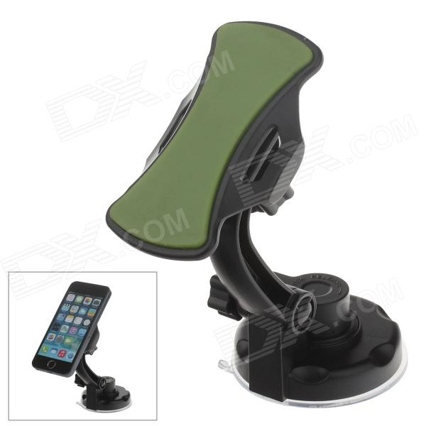 360 Degree Rotation Holder Mount w/ H17 Suction Cup + C71 Paste Back Clamp for Mobile - Black+ Green sharpener polishing wax paste metals chromium oxide green abrasive paste chromium oxide green polishing paste