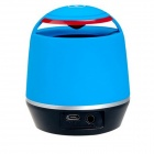 S05 mini drahtlose Bluetooth Speaker w / TF-Kartenleser für iPhone iPad PC - Blau