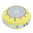 EWA E305 UFO Style Portable Bluetooth Speaker + Smart Voice / Handfree Calling - Yellow + Silver