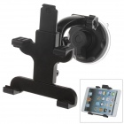 360 Degree Rotation Holder Mount w/ H17 Suction Cup + C61 Back Clamp for Samsung i9200 / Ipad MINI