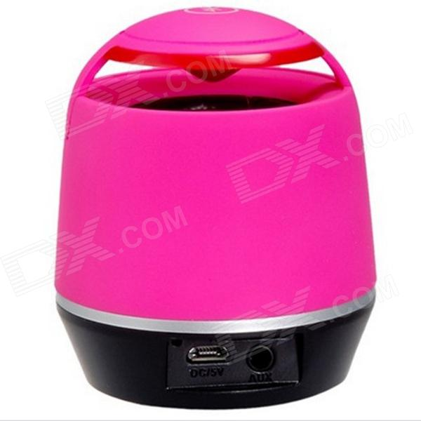 S05 Mini Wireless Bluetooth Speaker w/ TF Card Reader for Iphone Ipad PC - Pink
