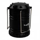 SingFire SF-806B 30-LED 90lm 1-Mode White Camping Lantern - Black (3 x 14500 / 3 x AA)
