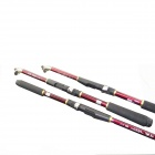 Carbon Fishing Rod - Black + Red