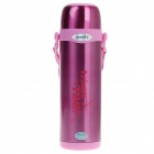 JINFENG NO.801 Stainless Steel Wide Mouth Bottle - Deep Pink (1000mL)