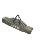 Diaodelai Canvas Fishing Rod Package Pack Bag - Army Green