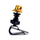 PANNOVO G-141 Car Sun Visor Mount Adapter for GoPro Hero2 / Hero3+ w/ CNC Tripod Mount