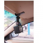 PANNOVO G-141 Car Sun Visor Mount Adapter w/ CNC Tripod Mount for Gopro Hero 4/2 / Hero3+ / SJ4000