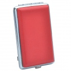 PS-039 1500mAh Solar Charger/ Portable Power Supply w/ Charging Adapters - Red