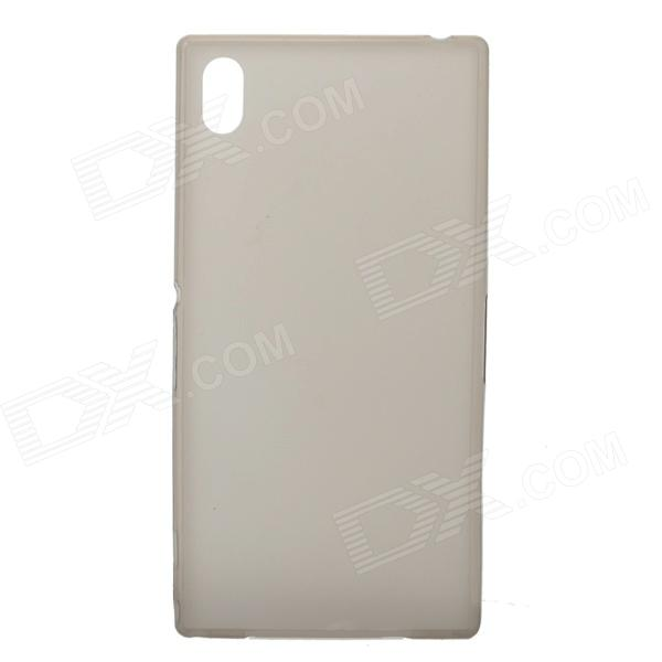 TEMEI Ultrathin Protective TPU Back Case for Sony L39h - Grey - DXTPU Cases<br>Protects your Sony L39h from scratches dust shock and abrasion; Precise design allows to access to all the interfaces and controls easily; The case is ultra thin shatter proof and anti-burst which can strongly protect your mobile phone;<br>