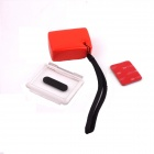 PANNOVO G-155 Waterproof Foam Floaty Backdoor w/ 3M Adhesive Tape / Rope for Gopro Hero 2/3