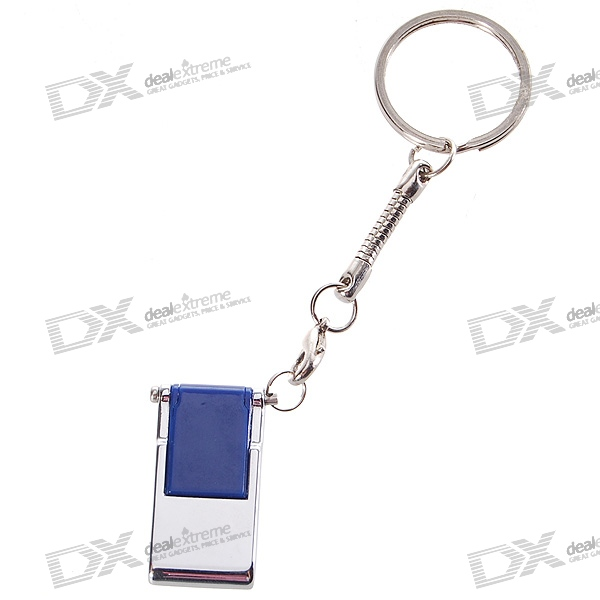 Foldable USB 2.0 Flash/Jump Drive Keychain (4GB)