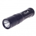 Prairiefire 80lm 6000K 5W White Light Flashlight - Black (1 x AA Battery )