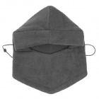 Outdoor Sports Cycling Warm Fleeces Face Mask / Hat - Grey (Free Size)