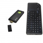 Ourspop MK9B Quad-Core Android 4.2.2 Google TV Player w/ 2GB RAM, 8GB ROM + Rii Mini X1 Mouse- Black