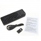 Ourspop MK9B quadrângulo-Core Android 4.2.2 Google TV Player com 2GB de RAM, 8GB ROM + Rii Mini X1 Mouse-Preto