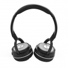 DAZA D900BT Handsfree Stereo Wireless Bluetooth Headphones w/ MP3 /TF / Mic / FM - Black + Silver