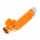 "Portable Mini 1/4"" Tripod for Camera - Orange + Grey"