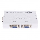 CKL-54A  4-Port Automatic KVM 250MHz Switch with Cable - White