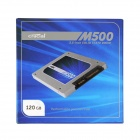 Crucial M500 2.5 Inch 6Gb/s Solid State Drive SATA 3.0 SSD - Sapphire + Silver (120GB / 7mm / 9.5mm)