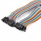 Universal M-M / M-F / F-F Arduino DuPont Cables Set - Multicolored