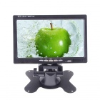 "7"" TFT LED Screen Monitor w/ Built-in Battery for VCD / DVD / GPS / Camera - Black"