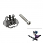 Fat Cat M-HS CNC Aluminum Alloy Bike Headset Mount Adapter w/ Screw for GOPRO Hero 3+/3/2/1/SJ4000