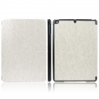 ENKAY ENK-3146 Protective PU Leather Case Cover Stand w/ Auto Sleep for Ipad AIR - White + Black