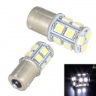 Merdia 1156 5W 6000K 13-SMD 5050 White Tail Light LED Bulbs - White (12V / 2 PCS)
