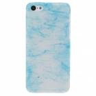 Stylish Glow-in-the-Dark Protective Frosted Plastic Back Case for Iphone 5C - Transparent + Blue