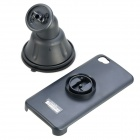 Lson 5GX Car Suction Cup Mount Holder for iPhone 5 - Black