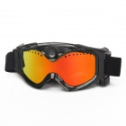 THB029 5.0MP 720P Skiing Goggles Camera - Black