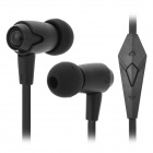 OVLENG iP810 3.5mm Super Bass In-ear Earphone for Iphone / Ipad / Ipod - Black (Cable Length-127cm)